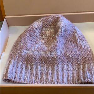 Louis Vuitton mohair/wool hat-pink RARE!!😍😍